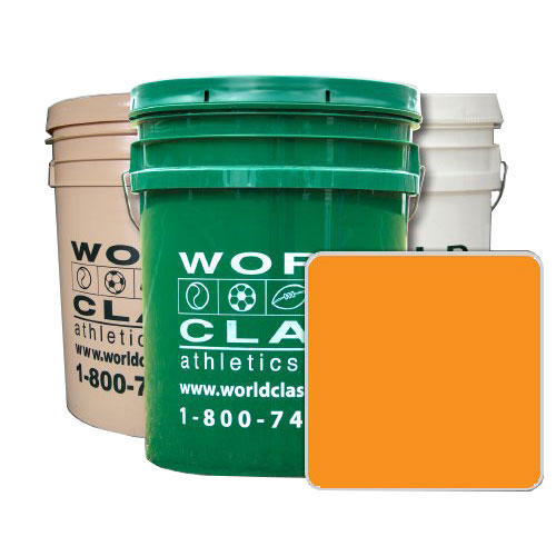 5 Gallon Concentrated Orange Athletic Paint