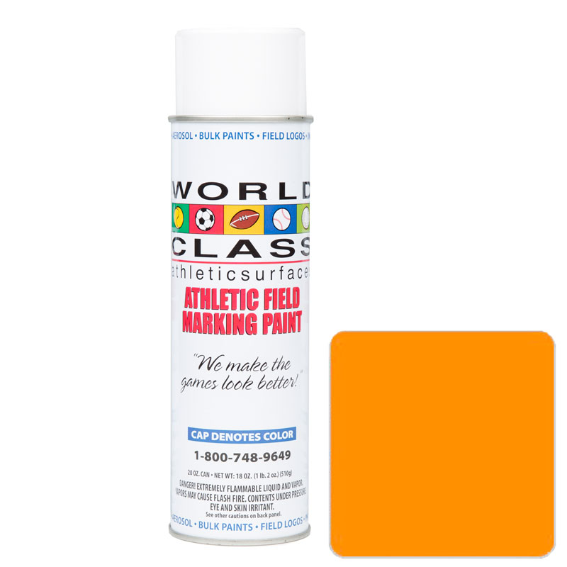Orange Athletic Aerosol Paint – 20 oz.