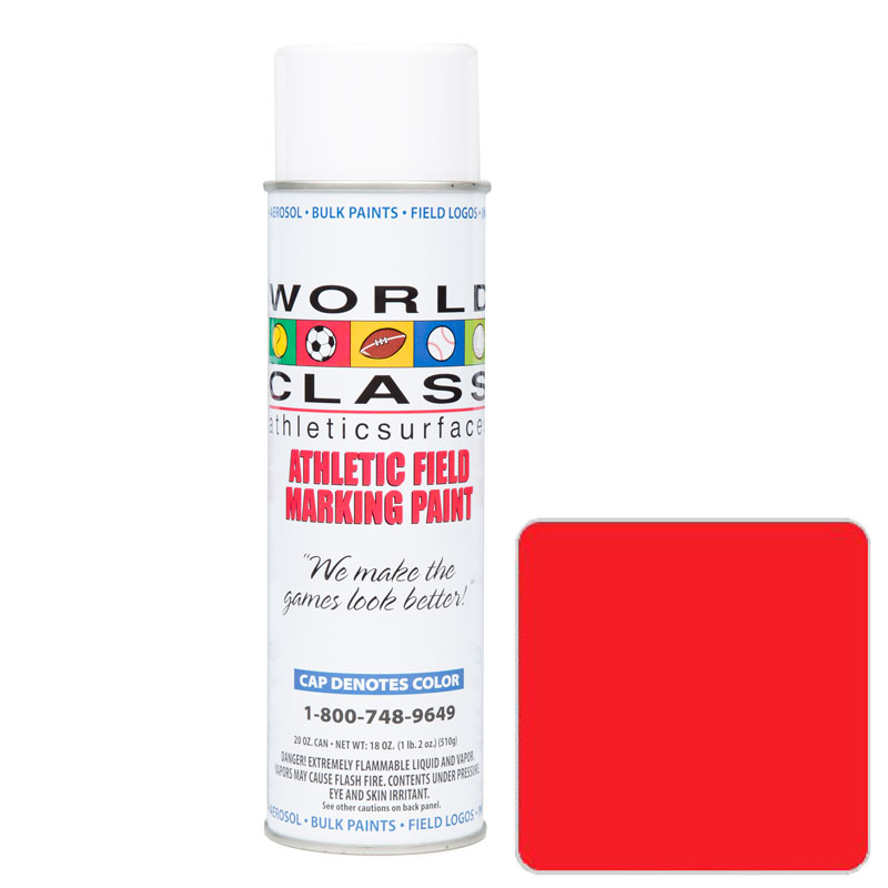 Red Athletic Aerosol Paint – 20 oz.