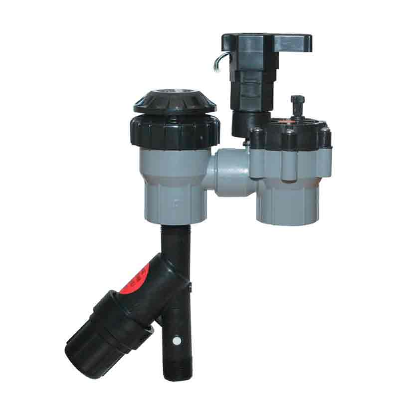 Xerigation 3/4-inch Low Flow Control Zone with Anti-Siphon and Pressure Regulating Filter