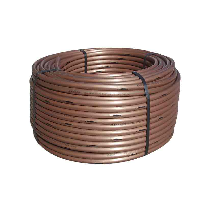 1/2-inch x 500-foot Roll Subsurface Dripline Tubing with 0.6 gph Emitters at 12-inch Spacing