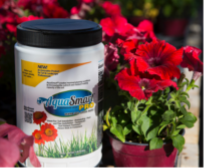 Aquasmart shaker with flowers in pots