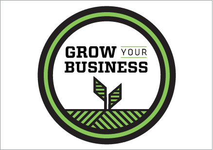 Green Grow Your Business icon