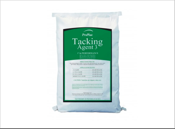 A bag of tacking agent