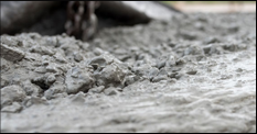 Wet concrete mix