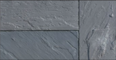 Wet cast landscape tiles