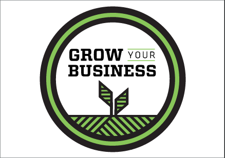 Grow your business logo