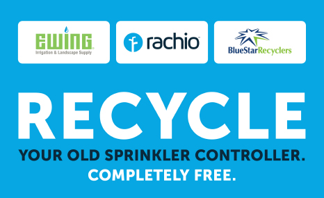 Recycle your old sprinkler controller completely free