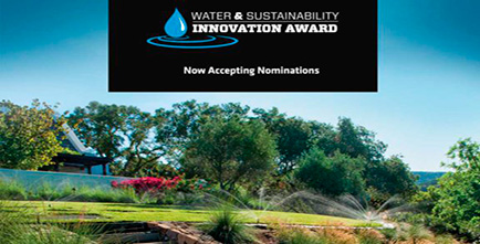 Water and Sustainability Innovation Award