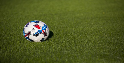 Image of soccer ball on grass