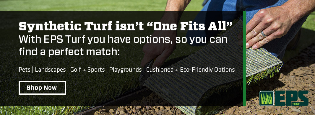 Image of installing synthetic turf