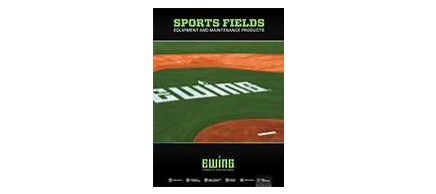 A preview of the Sports Fields catalog cover